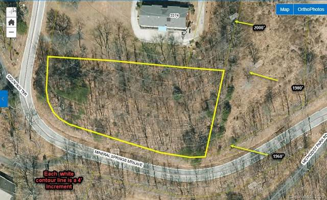 0 Mineral Springs Mountain Avenue, Valdese, NC 28612 (#3687552) :: Keller Williams South Park