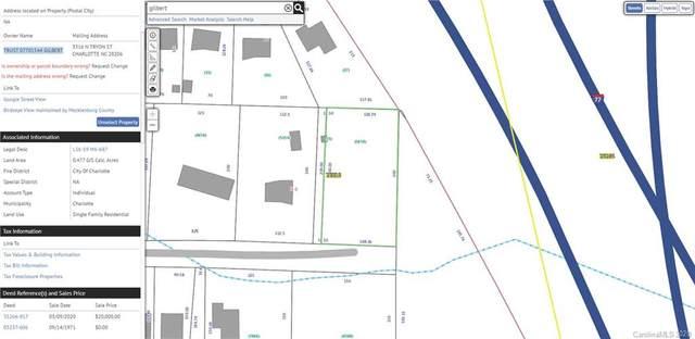 0000 Gilbert Street, Charlotte, NC 28216 (#3688079) :: Puma & Associates Realty Inc.