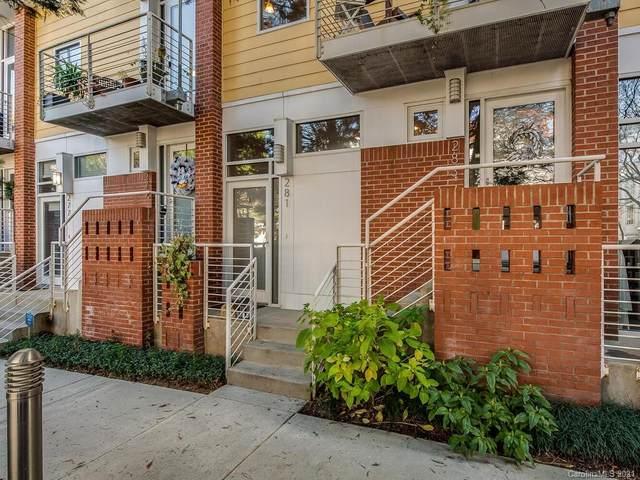 281 Mcdonald Avenue, Charlotte, NC 28203 (#3695714) :: High Performance Real Estate Advisors