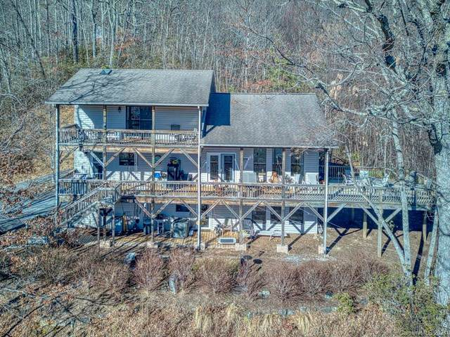85 Saddle Drive, Maggie Valley, NC 28751 (#3697455) :: High Performance Real Estate Advisors