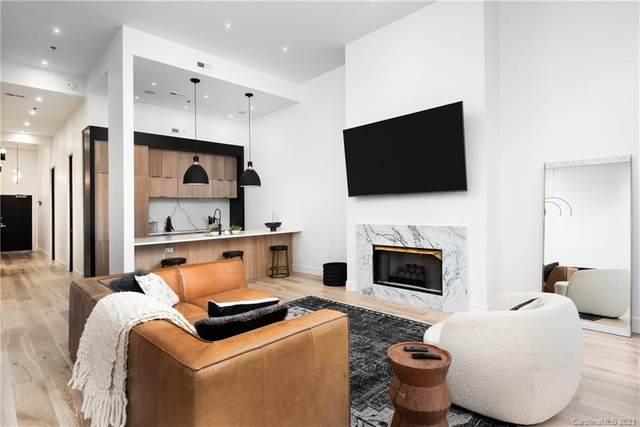 127 N Tryon Street #414, Charlotte, NC 28202 (#3698525) :: Burton Real Estate Group