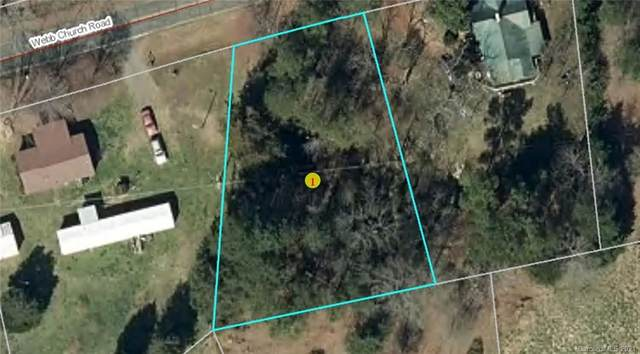 0 Webb Church Road, Ellenboro, NC 28040 (#3699184) :: Odell Realty