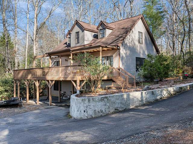 590 Three Mile Knob Road, Pisgah Forest, NC 28768 (#3699203) :: High Performance Real Estate Advisors