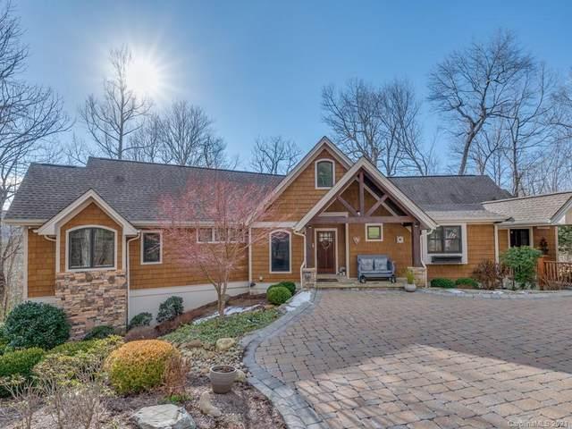 31 Falls Lane, Hendersonville, NC 28739 (#3699472) :: Besecker Homes Team