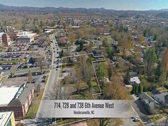714,728,738 Sixth Avenue W, Hendersonville, NC 28739 (#3700426) :: Premier Realty NC