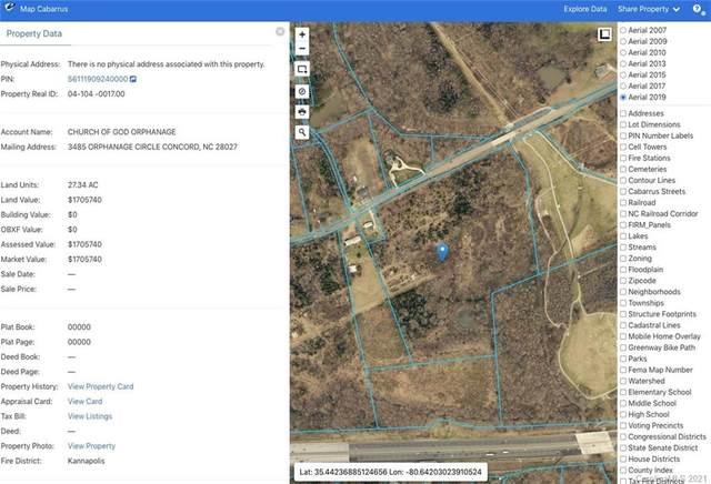 0000 Orphanage Road, Kannapolis, NC 28027 (#3700498) :: The Premier Team at RE/MAX Executive Realty