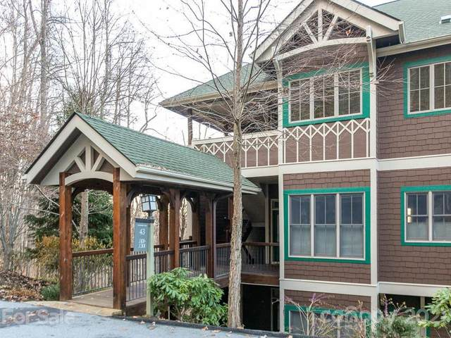 43 Creekside Way J 101, Burnsville, NC 28714 (#3707294) :: High Performance Real Estate Advisors
