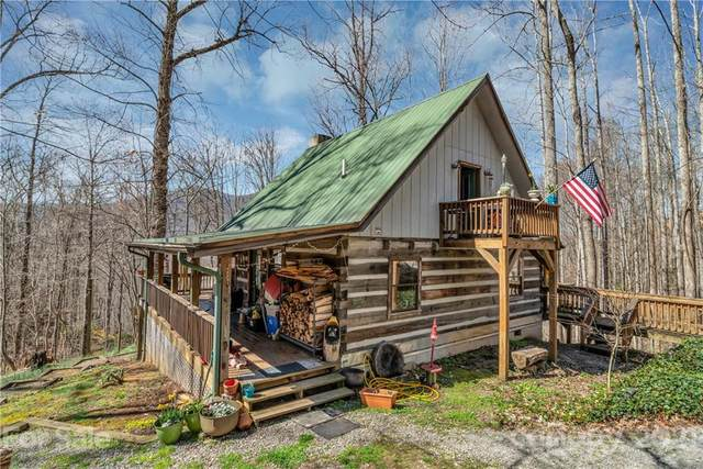 800 Spirit Mountain Trail, Waynesville, NC 28786 (#3708778) :: The Ordan Reider Group at Allen Tate