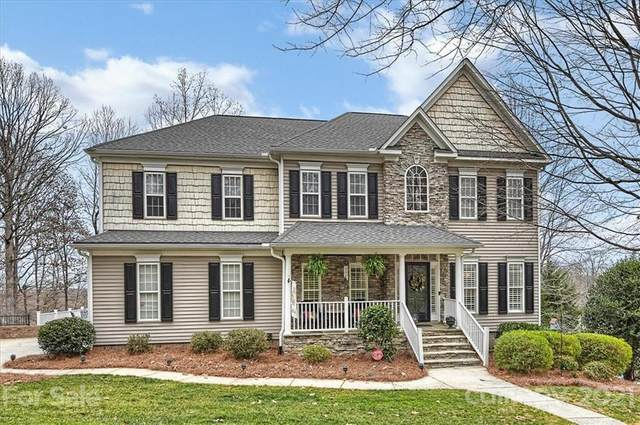10020 Linksland Drive, Huntersville, NC 28078 (#3713619) :: Love Real Estate NC/SC
