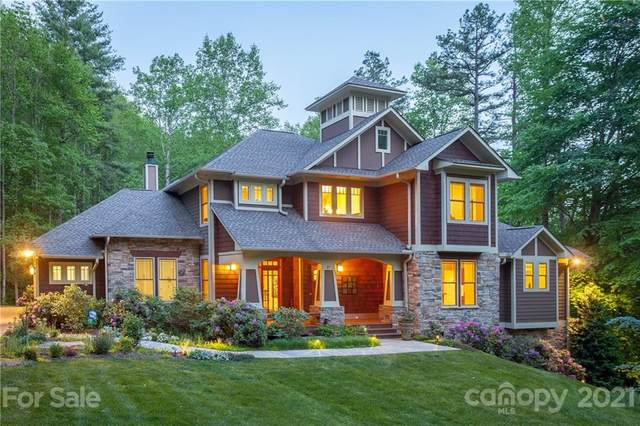 27 Hawks Pointe Lane, Weaverville, NC 28787 (#3718080) :: The Allen Team