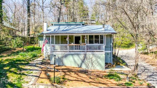 741 County Road, Waynesville, NC 28785 (#3721835) :: Caulder Realty and Land Co.