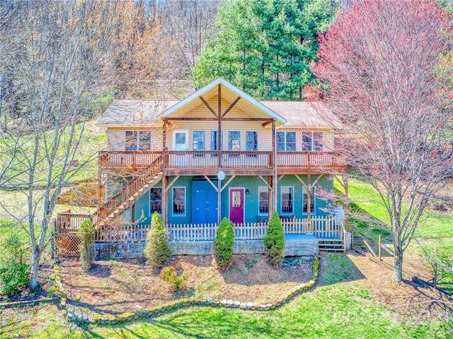 684 Acres View Drive, Waynesville, NC 28786 (#3723842) :: Stephen Cooley Real Estate Group