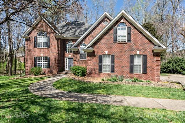 5918 Crown Hill Drive, Mint Hill, NC 28227 (#3724153) :: Odell Realty
