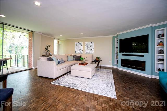 1300 Queens Road #412, Charlotte, NC 28207 (#3725945) :: The Ordan Reider Group at Allen Tate