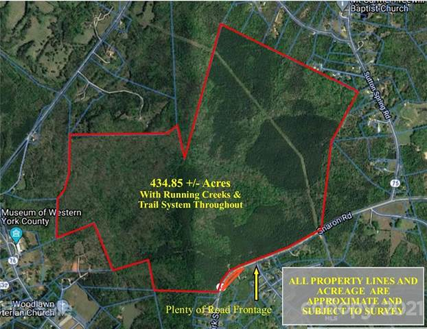 435 +/- Ac Sharon Road, York, SC 29745 (#3729138) :: Austin Barnett Realty, LLC