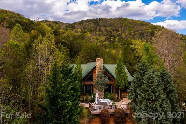 2140 Cedar Creek Road, Lake Lure, NC 28746 (#3734390) :: Todd Lemoine Team