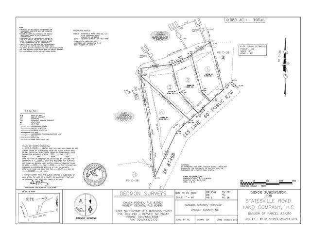 2641 Les Lane Lot # 1, Denver, NC 28037 (#3735314) :: Cloninger Properties