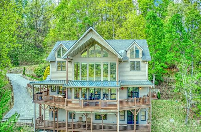 602 Grandview Cliff Heights, Maggie Valley, NC 28751 (#3735341) :: The Ordan Reider Group at Allen Tate
