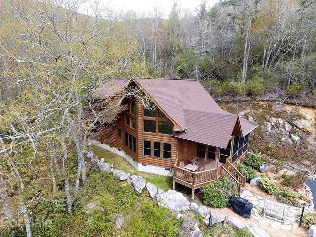75 Hideaway Lane, Maggie Valley, NC 28751 (#3738219) :: BluAxis Realty