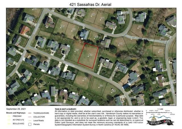 421 Sassafras Drive #36, Hendersonville, NC 28739 (#3740150) :: Briggs American Homes