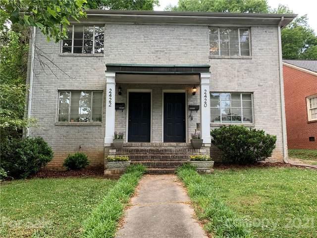 2420 / 2422 Charlotte Drive, Charlotte, NC 28203 (#3740634) :: Exit Realty Vistas