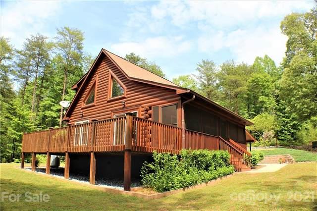 203 Long Ridge Drive, Lake Lure, NC 28746 (#3741542) :: Todd Lemoine Team