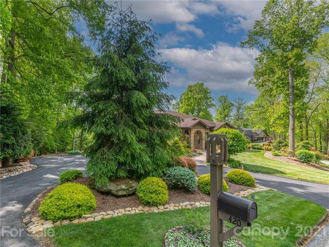 420 Ledgeview Drive, Hendersonville, NC 28792 (#3743828) :: Modern Mountain Real Estate