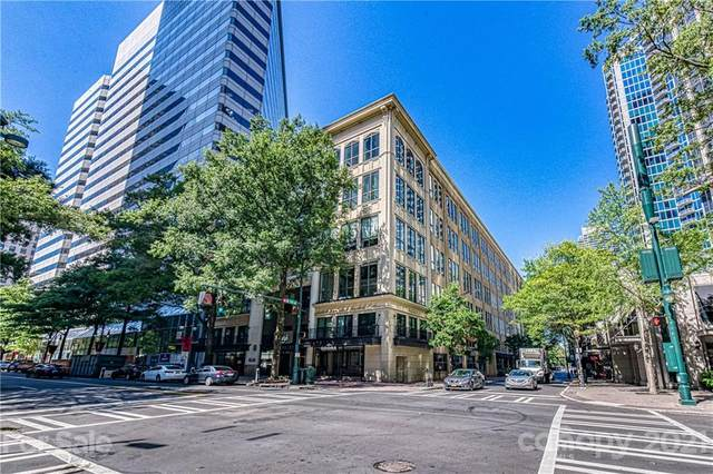 127 N Tryon Street #615, Charlotte, NC 28202 (#3746807) :: Odell Realty