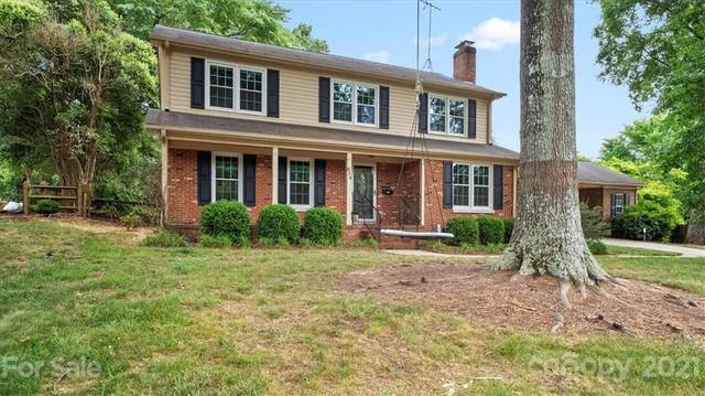 614 Nottingham Drive, Charlotte, NC 28211 (#3747941) :: Odell Realty