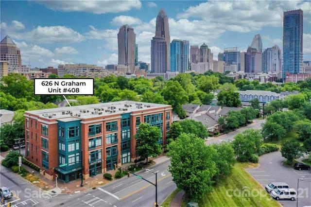 626 N Graham Street #408, Charlotte, NC 28202 (#3749292) :: Homes Charlotte
