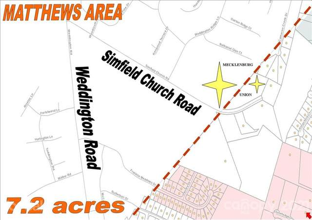 0000 Simfield Church Road, Matthews, NC 28105 (#3750364) :: LePage Johnson Realty Group, LLC