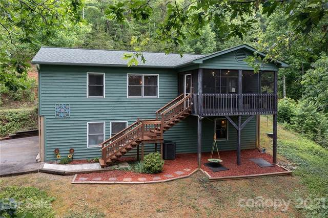 90 W Holly Ridge Drive, Old Fort, NC 28762 (#3750376) :: MartinGroup Properties