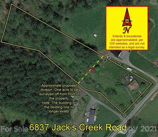 6837 Jacks Creek Road, Green Mountain, NC 28740 (#3750817) :: Lake Wylie Realty