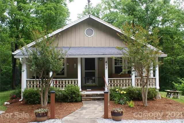 417 Trammel Gap Road, Saluda, NC 28773 (#3751316) :: Keller Williams Professionals