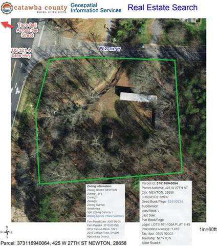 425 W 27th Street W, Newton, NC 28658 (#3754901) :: Carlyle Properties