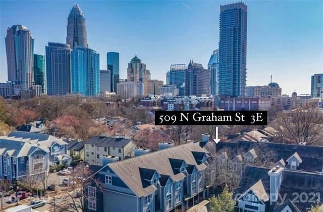 509 N Graham Street 3E, Charlotte, NC 28202 (#3755528) :: MartinGroup Properties