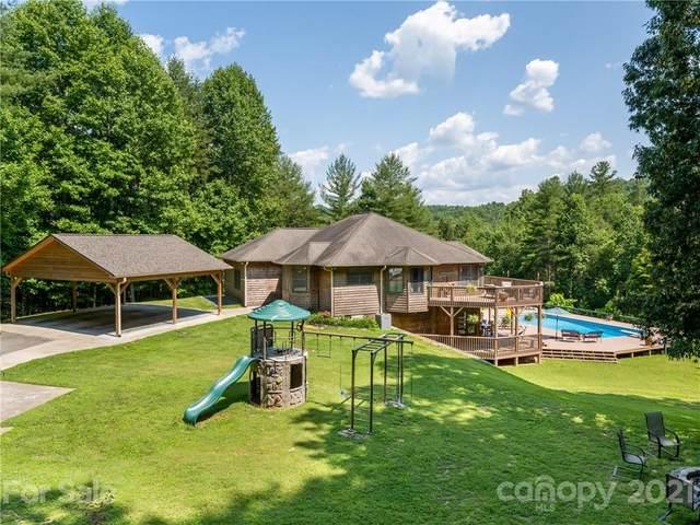 410 Foggy Mountain Drive, Old Fort, NC 28762 (#3759278) :: Carver Pressley, REALTORS®