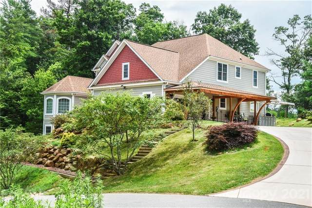 14 Timber Hill Drive, Leicester, NC 28748 (#3763678) :: NC Mountain Brokers, LLC