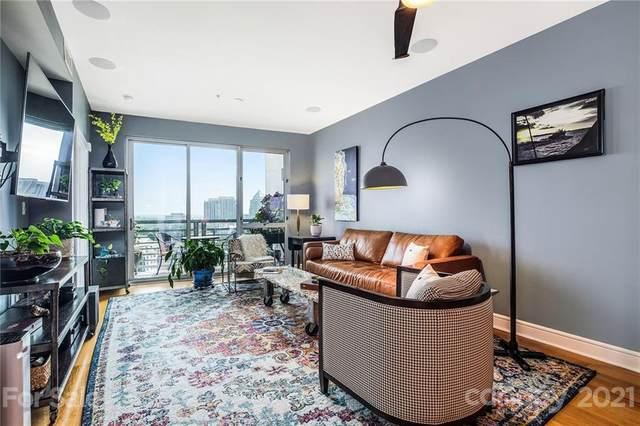 333 W Trade Street #1201, Charlotte, NC 28202 (#3764500) :: Scarlett Property Group