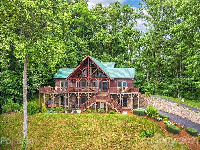 43 Stone Hill Trail, Maggie Valley, NC 28751 (#3766617) :: NC Mountain Brokers, LLC