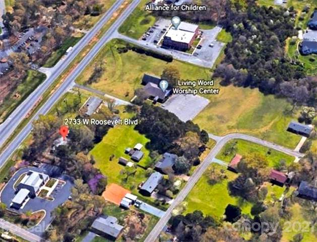 2733 W Roosevelt Boulevard, Monroe, NC 28110 (#3767676) :: MartinGroup Properties