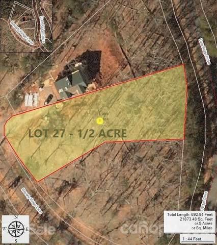 0 Lure Ridge Drive #27, Lake Lure, NC 28746 (#3769806) :: Mossy Oak Properties Land and Luxury