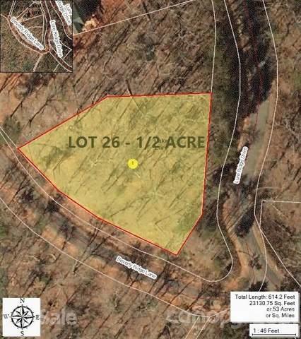 0 Lure Ridge Drive #26, Lake Lure, NC 28746 (#3770330) :: Mossy Oak Properties Land and Luxury