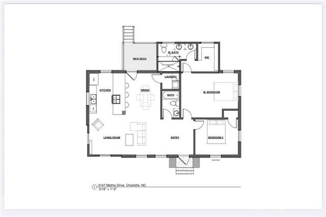 3147 Mathis Drive, Charlotte, NC 28208 (#3772805) :: Briggs American Homes