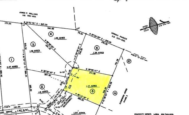 Lot 6 Cedar Tree Circle #6, Mt Ulla, NC 28125 (#3777050) :: BluAxis Realty