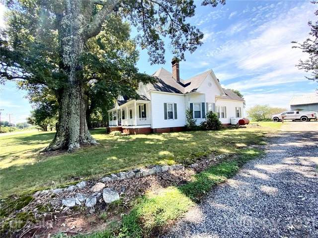 5124 Old Mountain Road, Stony Point, NC 28678 (#3777321) :: High Performance Real Estate Advisors