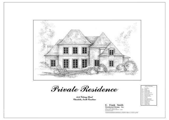5419 Colony Road, Charlotte, NC 28226 (#3782007) :: Homes Charlotte