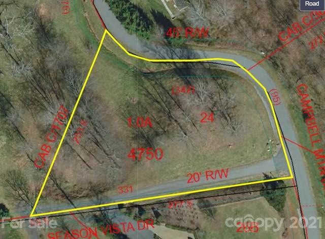 Lot #24 Campbell Mountain Drive, Waynesville, NC 28785 (#3782129) :: High Vistas Realty
