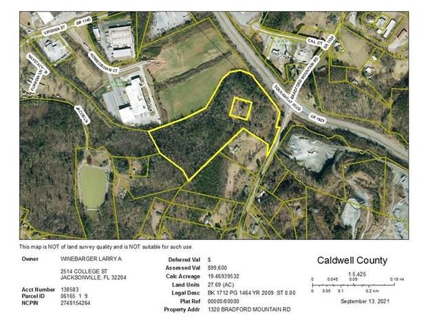 1324 Bradford Mountain Road, Lenoir, NC 28645 (#3785422) :: LePage Johnson Realty Group, LLC