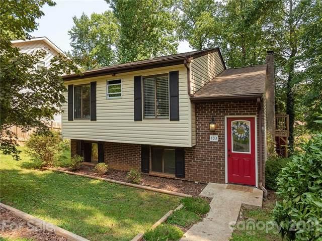 103 Honeysuckle Drive, Hendersonville, NC 28791 (#3785770) :: Cloninger Properties